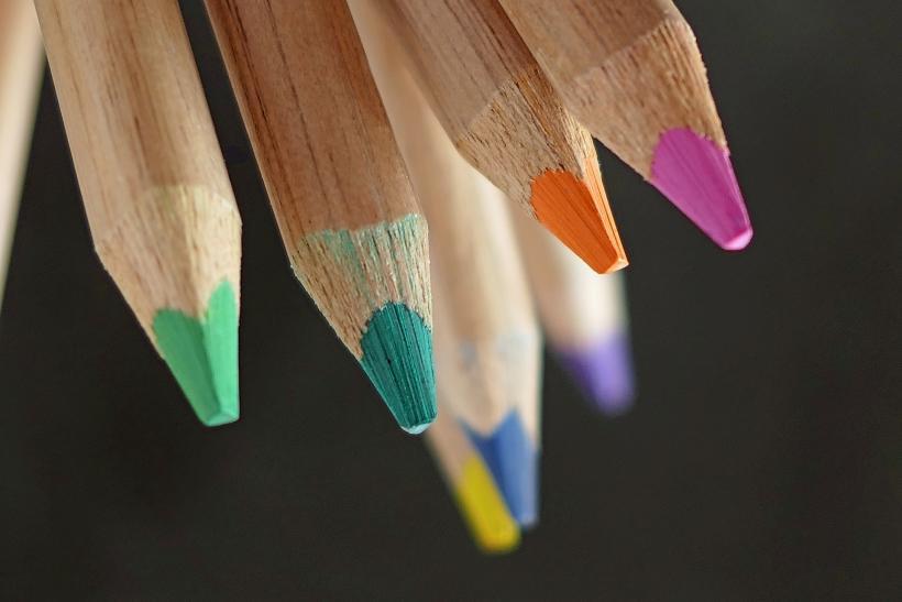 BaBetter gekleurde potloden, Pixabay free